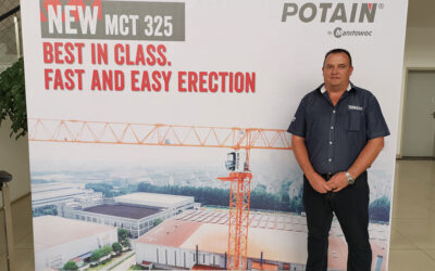 Manitowoc launches strong and versatile Potain MCT 325