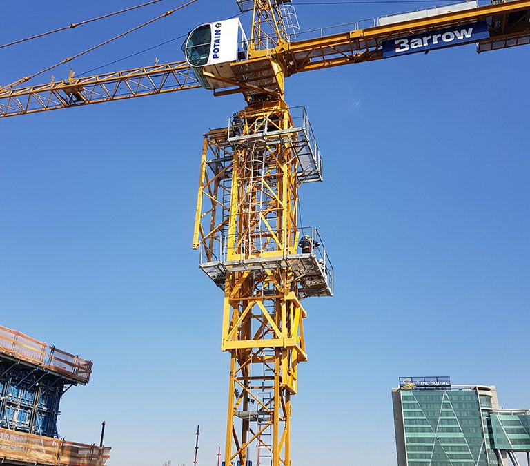 INNOVATION, LOCAL SUPPORT ENSURE TOWER CRANE SAFETY