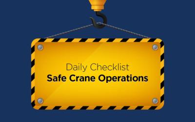 Daily Checklist: Safe Crane Operations